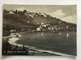 S.STEFANO DI CAMASTRA - VEDUTA DAL MARE-  VIAGGIATA FG - Messina