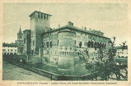 """8283"""" FONTANELLATO(PARMA)-ANTICA ROCCA DEI CONTI SANVITALE(MONUM. NAZIONALE) """" -CARTOLINA POSTALE ORIGINALE NON SPEDITA - Parma"""