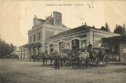 LUXEUIL Les BAINS  La Gare Diligences  RV - Luxeuil Les Bains