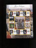 Belgie BL175 Books Literature Claus Nothomb Vernes Antwerp Watou Lanoye MNH 3970/3979 - Blocks & Sheetlets 1962-....