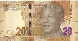 AFRIQUE DU SUD - 20 Rand 2015 (Nelson Mandela) - UNC - Suráfrica