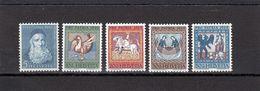 Suisse - Année 1965 - Neuf**  - Pro Patria - N°Zumstein 123/27**- Portrait Et Peintures Plafond De L'église De Zillis - Neufs