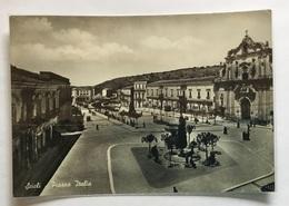SCICLI -PIAZZA ITALIA-  VIAGGIATA FG - Ragusa