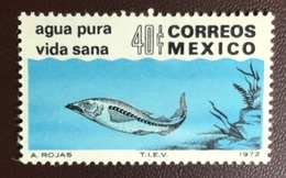 Mexico 1972 Fish From Set MNH - Fische