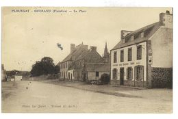 CPA 29 PLOUEGAT-GUERAND LA PLACE - Other Municipalities