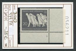Bundesrepublik - RFA - Allemagne - Germany - Michel 479 - Eckrandstück Mit FormNr. 1  - ** Mnh Neuf Postfris - Ungebraucht