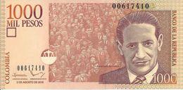 COLOMBIE - 1000 Pesos 2016 - UNC - Colombia