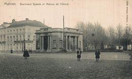 MALINES - Boulevard Speeck Et Maison De L'Octroi.  MECHELEN  // ANTWERPEN ANVERS - Malines