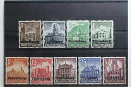 Deutsche Besetzung 2. WK Luxemburg 33-41 ** Postfrisch #UI547 - Occupazione 1938 – 45