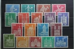 Schweiz 696-713 ** Postfrisch #UI445 - Svizzera