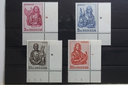 Schweiz 738-741 ** Postfrisch #UI455 - Zwitserland