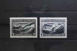 Liechtenstein 114-115 * Mit Falz Zeppelin Luftpost Flugpost #UI914 - Non Classificati