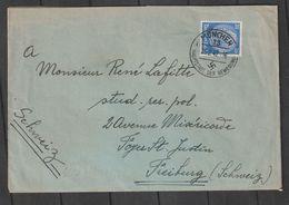 """Deutsches Reich / 1942 / Zensierter Brief K1 """"MUENCHEN"""" In Die Schweiz (BO61) - Deutschland"""