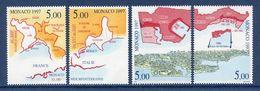 ⭐ Monaco - YT N° 2129 à 2132 - Neuf Sans Charnière - 1997 ⭐ - Unused Stamps