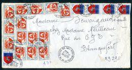 FRANCE N°1468 (Auch) Et 1510 (St Lo) - Tarif 1,70 F De 1976 - Enveloppes