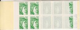 Sabine De Gandon, Carnet De 20 TP à 1F00 N° 1973-C1a Gomme Matte (code Postal ...), Neuf ** - Uso Corrente