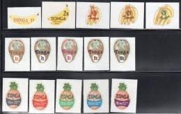 TONGA -  TS  N° 36/50 ** (1978) FRUITS - Tonga (1970-...)
