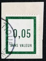 France Fictif N° F4 Oblitéré TTB Et Très Rare En Oblitéré. Cote 2020 : 5,40 Euros Minimum. Voir Scans Recto Verso - Fictifs