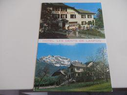 HAUTE SAVOIE - ECHARVINES TALLOIRES  - HOTEL RESTAURANT - Talloires