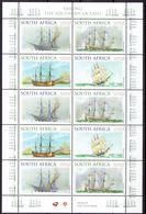 South Africa 1999 - Tall Ships, Min. Sheet -  Michel 1189-92 -  MNH, NEUF, Postfrisch - South Africa (1961-...)