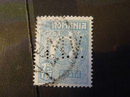 ROUMANIE 1919   Perforé Perfin - Usado