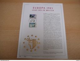 (09.06) BELGIE 1985 - Herdenkingskaarten