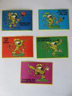 5 Autocollants Marsupilami VICO - Stickers