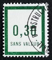 France Fictif N° F9 Oblitéré B Et Très Rare En Oblitéré. Cote 2020 : 5,40 Euros Minimum. Voir Scans Recto Verso - Fictifs