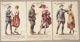 3 CP LES CHARADES  Soldat + Jeune Femme - Humoristiques