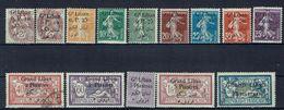 Grand Liban - Série N° 22/38 Neufs - X - Traces De Charnières Propres (sauf 29 - 32 - 35 - 37) Des Variétés - B/TB - - Gran Libano (1924-1945)