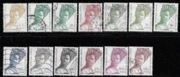 SENEGAL 1996 SCOTT 1249..... 13 STAMPS CANCELLED - Senegal (1960-...)