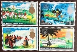 Fiji 1967 Tourist Year Marine Life MNH - Fidji (...-1970)