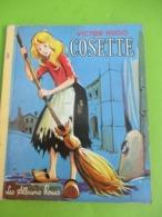 """Les Albums Roses/""""COSETTE""""/Victor HUGO/Denis-François/François Batet/Imprimeur Gibert-Clarey/TOURS/1961   PLR4 - Books, Magazines, Comics"""