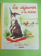 """Les Albums Roses/""""Le Déjeuner à La Ferme /Maunier / Simon/Imprimeur Gibert-Clarey/TOURS/1963   PLR5 - Bücher, Zeitschriften, Comics"""