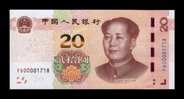 China 20 Yuan Mao Tse-Tung 2019 Pick New SC UNC - China