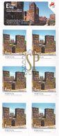 Portugal 2014 Castelo De Silves Autoadesivos Alentejo Algarve Emission Commune Avec Le Maroc Château Castle Join Issue - Castillos