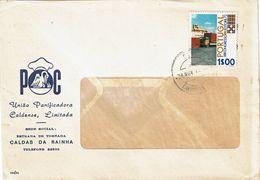 Portugal 1972 , Caldas Da Rainha  Postmark , IRU Congress Estoril  Stamp ,  União Panificadora Caldense , Pelican - Postmark Collection