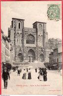 CPA 38 Vienne Eglise Et Parc St Maurice ( Cathédrale Et Place ) - Vienne