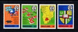 SWAZILAND    1973    10th  Anniv  Of  University    Set  Of  4    MNH - Swaziland (1968-...)
