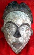 Punu Massker Uit Gabon - Masque Punu Du Gabon - Art Africain