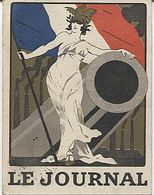 X123647 CALENDRIER DE POCHE DE 1917 PUBLICITE LE JOURNAL DIRECTEUR CHARLES HUMBERT - Calendriers