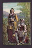 CPA Indien Apache écrite - Indiens De L'Amerique Du Nord