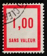 France Fictif N° F49 Oblitéré TTB Et Très Rare En Oblitéré. Cote 2020 : 3 Euros Minimum. Voir Scans Recto Verso - Fictifs