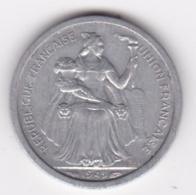 Nouvelle-Calédonie – Union Française. 1 Franc 1949. Aluminium. - New Caledonia