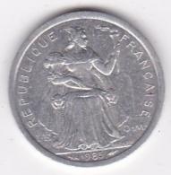 Nouvelle-Calédonie . 1 Franc 1985. Aluminium. - New Caledonia