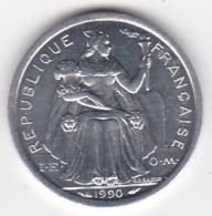 Nouvelle-Calédonie . 1 Franc 1990. Aluminium. - New Caledonia