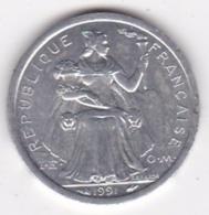 Nouvelle-Calédonie . 1 Franc 1991. Aluminium. - New Caledonia