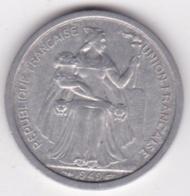 Nouvelle-Calédonie – Union Française. 2 Francs 1949. Aluminium. - Nouvelle-Calédonie