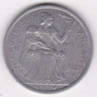 Nouvelle-Calédonie . 2 Francs 1977. Aluminium. - New Caledonia