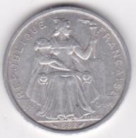 Nouvelle-Calédonie . 2 Francs 1982. Aluminium. - Nouvelle-Calédonie